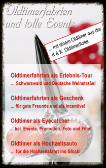 Oldtimervermietung Oldtimer mieten Hochzeit Frankfurt Mannheim Heidelberg Stuttgart