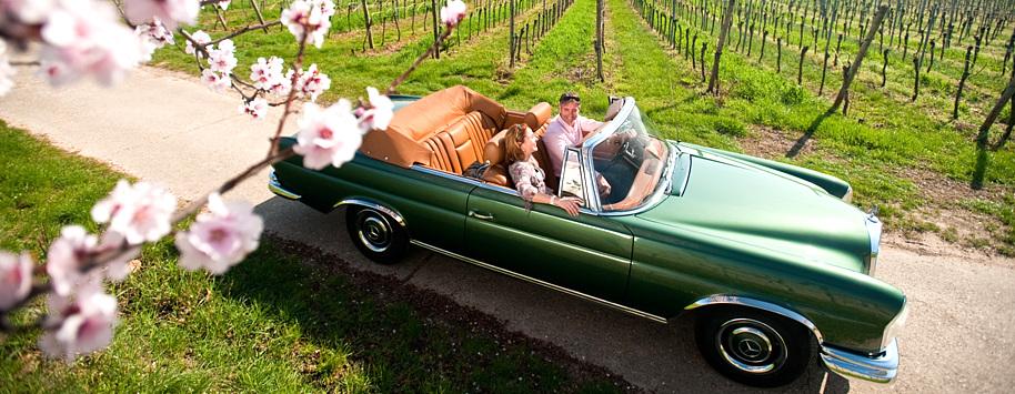Oldtimer-Vermietung Hochzeit