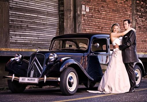 Oldtimer Hochzeitsauto mieten in Heidelberg