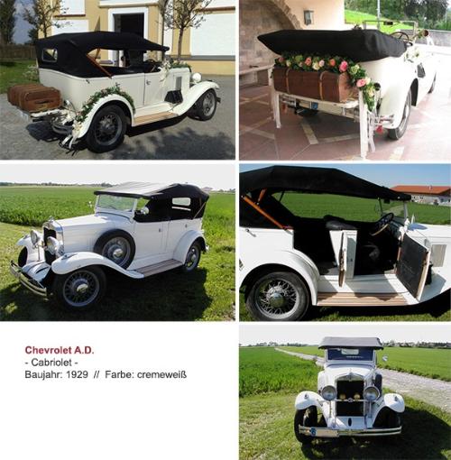 Oldtimer Hochzeitsauto mieten München