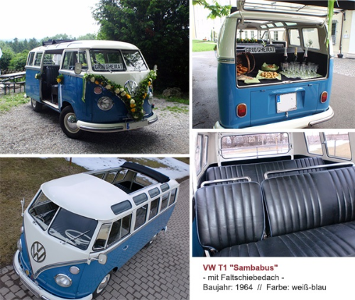 T1 T2 Bus mieten München Samba
