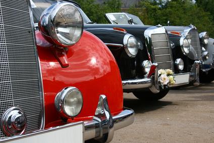 Oldtimervermietung Memmingen Hochzeit Hochzeitsauto