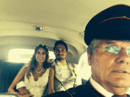 Oldtimer mieten Hochzeit in München