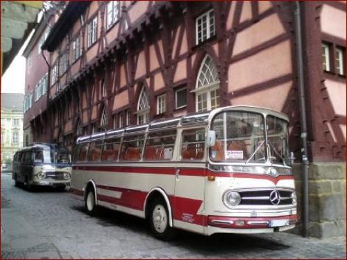 Oldtimerbus mieten München Hochzeit