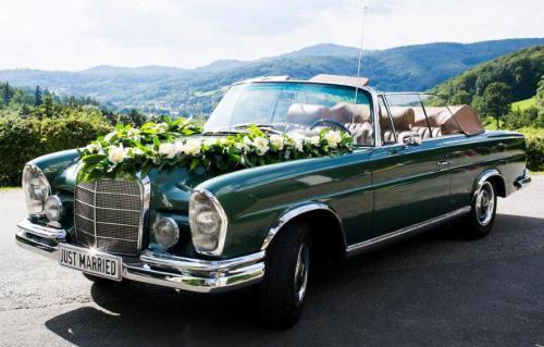 Oldtimer  mieten Saarbrücken Hochzeitsauto