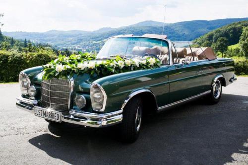 Oldtimer mieten Karlsruhe Hochzeitsauto