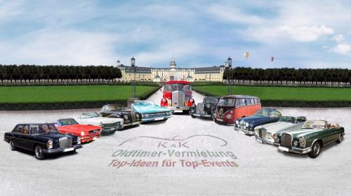 Oldtimer mieten Bruchsal Rastatt Bretten Baden-Baden