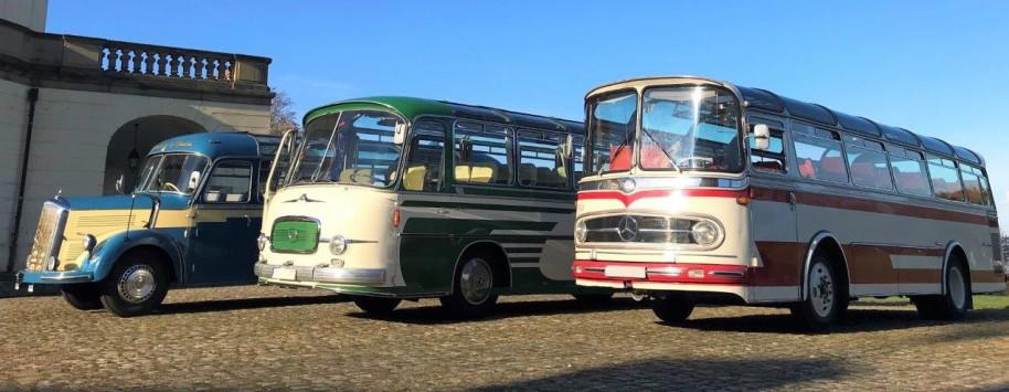 Oldtimerbus Vermietung, historischer Bus, alter Omnibus