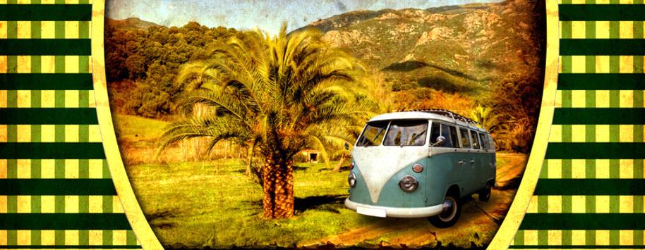 VW Bus mieten, Samba-Bus, Vermietung